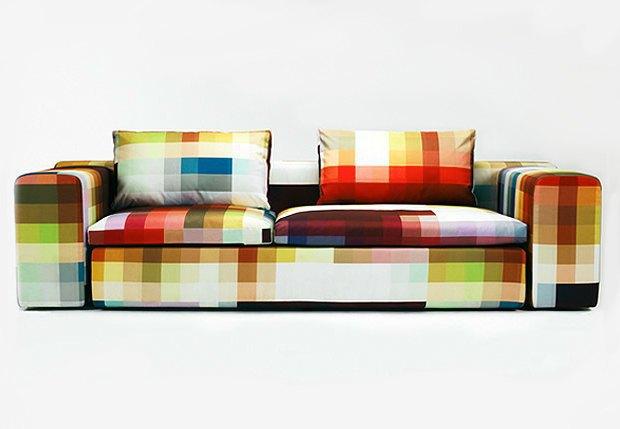 Глитч-мебель: красивые компьютерные ошибки в интерьере. Изображение № 10.