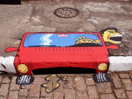 Уличные художники Сан-Пауло делают город веселее. Изображение № 13.