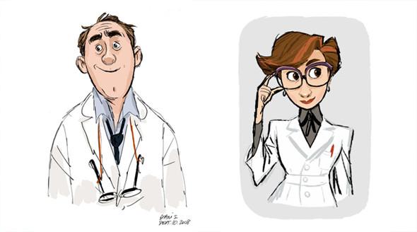 Pixar выпустили арт к отмененному мультфильму. Изображение № 4.