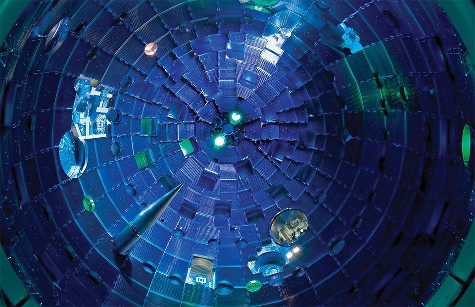 Как выглядит комплекс с самыми мощными лазерами в мире. Изображение № 14.