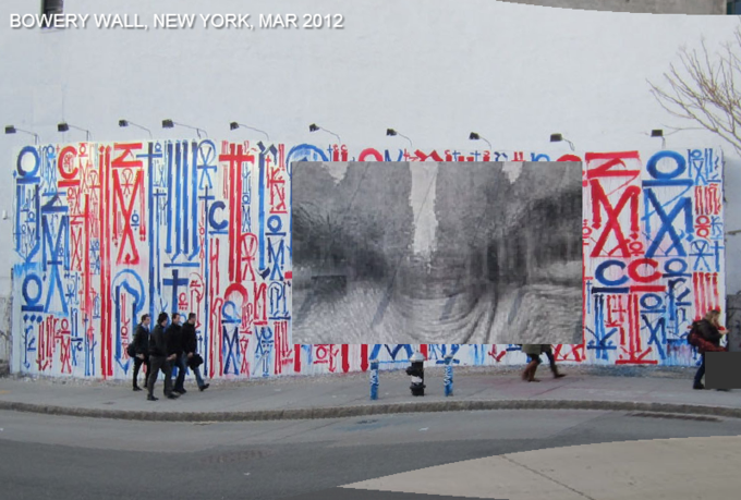 Историю граффити на одной стене восстановили с помощью Google Street View . Изображение № 6.
