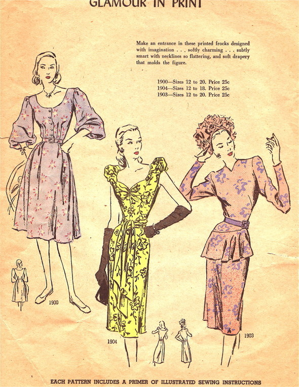Костюм впериод рецессии: сегодня ив 1940-х. Изображение № 6.