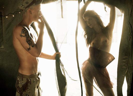«Make Love NotWar» by Steven Meisel Vogue Italy. Изображение № 14.