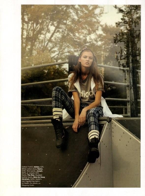 Съёмка: Али Стивенс для Elle. Изображение № 6.