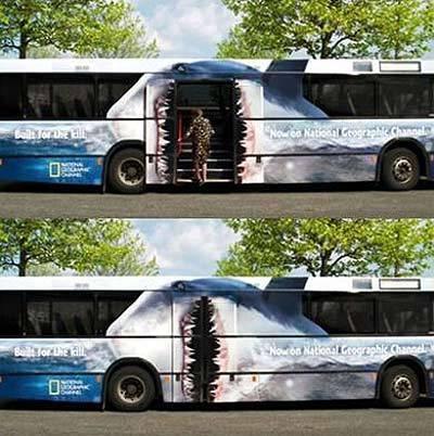Необычная автобусная реклама. Изображение № 3.