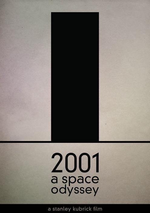 Слишком просто - 20 минималистических кинопостеров. Изображение № 17.
