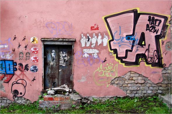 Стрит-арт и граффити Риги. Изображение № 17.