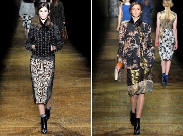 Изображение 6. Показы на Paris Fashion Week FW 2011: день 2.. Изображение № 6.