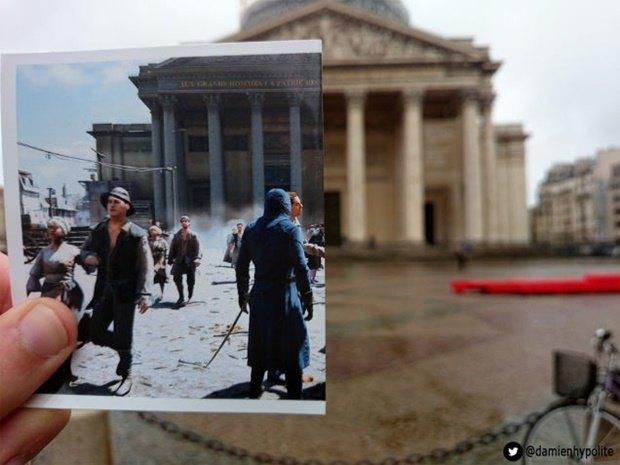 Дизайнер сравнил Париж в Assassin's Creеd и реальности. Изображение № 3.