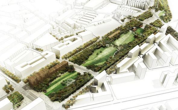 Барселона получит новые «зеленые легкие». Изображение № 7.
