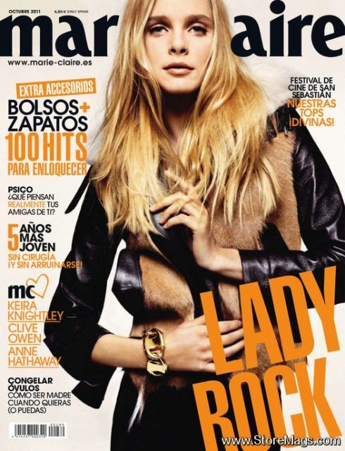 Обложки октября: Elle, Marie Claire, Interview и другие. Изображение № 17.