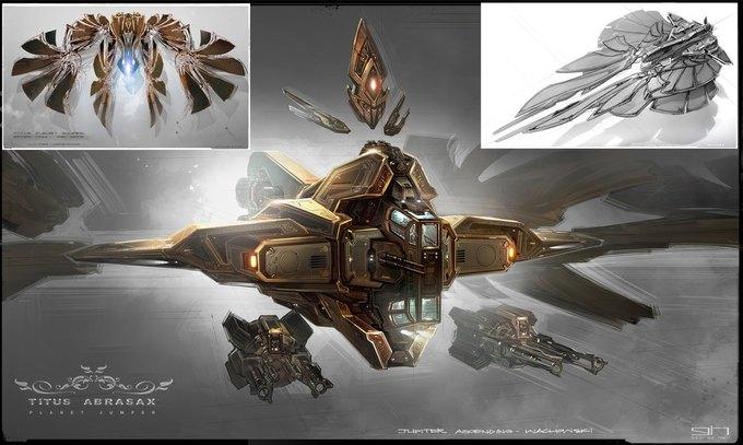 Художник «Восхождения Юпитер» выложил концепты к фильму. Изображение № 37.