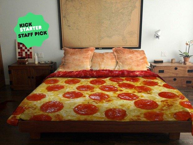 На Kickstarter cобирают деньги на пиццу-кровать. Изображение № 2.