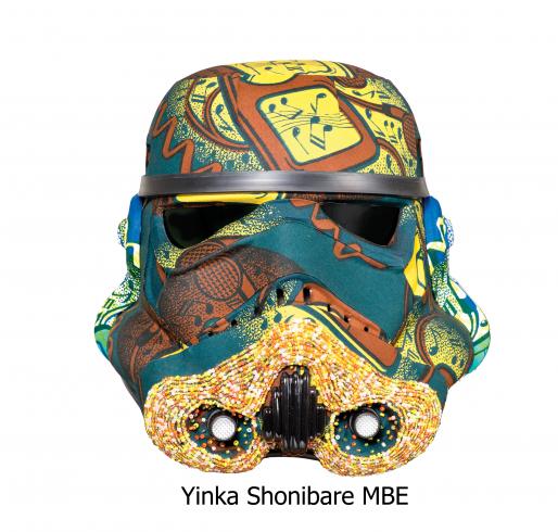Современные художники переосмыслили шлем штурмовика. Изображение № 12.