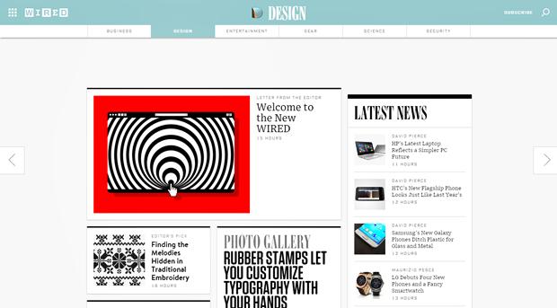 Издание Wired провело полный редизайн сайта. Изображение № 3.