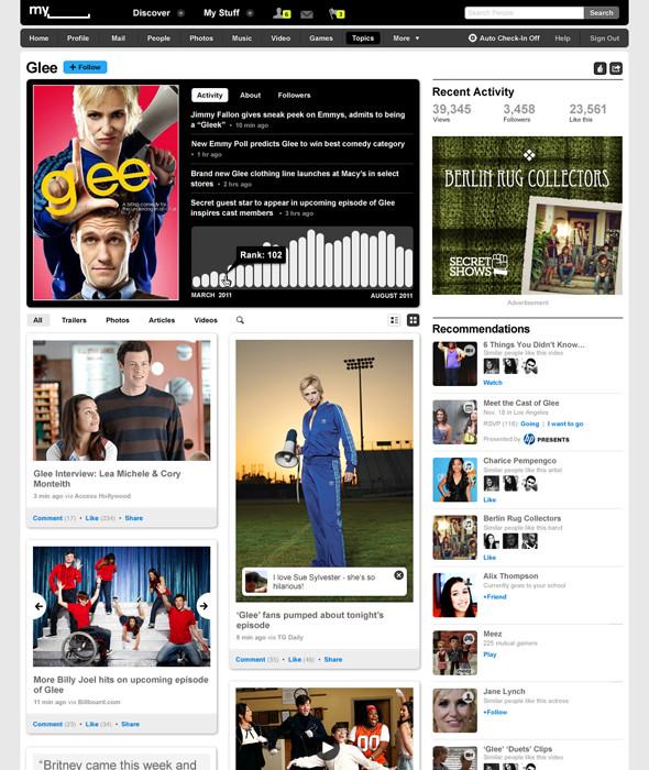 Новый Myspace. Изображение № 2.