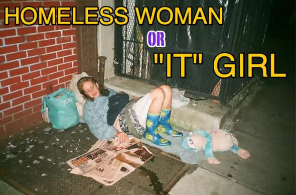 У богатых свои причуды или Homeless look. Изображение № 1.
