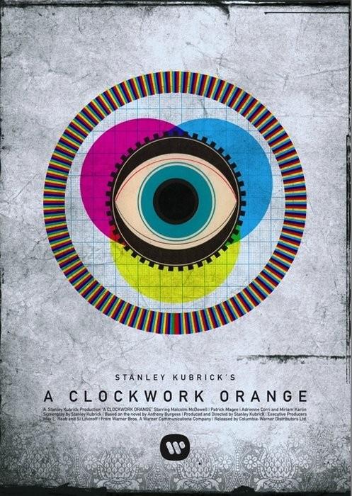 A Clockwork Orange - 20 кинопостеров на тему ультранасилия. Изображение № 9.