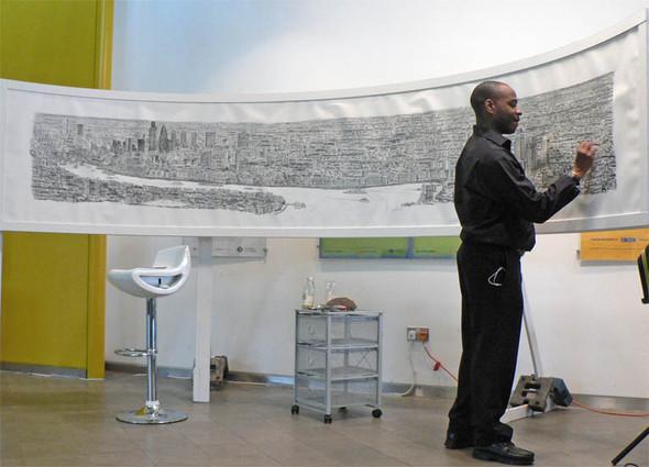 Стивен Вилтшер. Художник рисующий панорамы городов по памяти. Изображение №16.