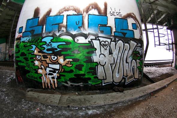 Граффитчик Илья Кейс на ART Vegas. Изображение № 3.