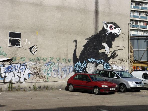 Стрит-арт в Лондоне. Изображение № 2.