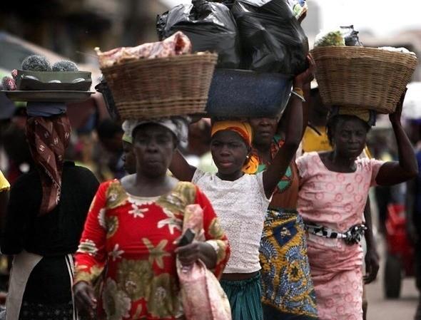 Изображение 19. Рыночные девушки из Ганы.. Изображение № 19.