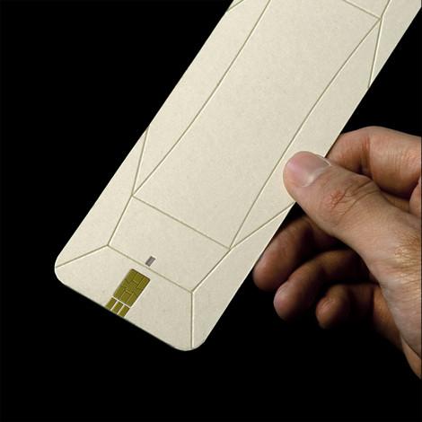 Изображение 3. Предмет: оригами-телефон Weii.. Изображение № 3.