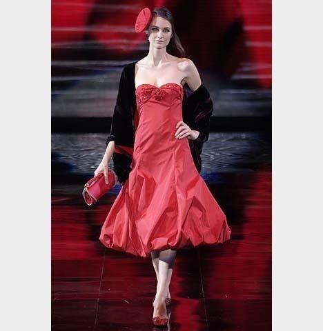 Изображение 1. Платье-баллон – классика, проверенная временем.. Изображение № 5.