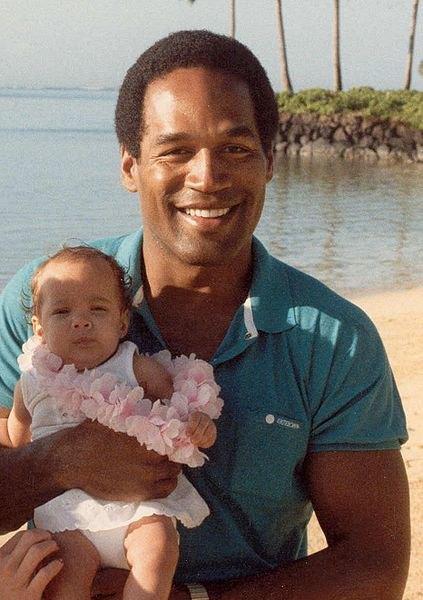 О. Джей Симпсон со своей дочерью. Изображение № 1.