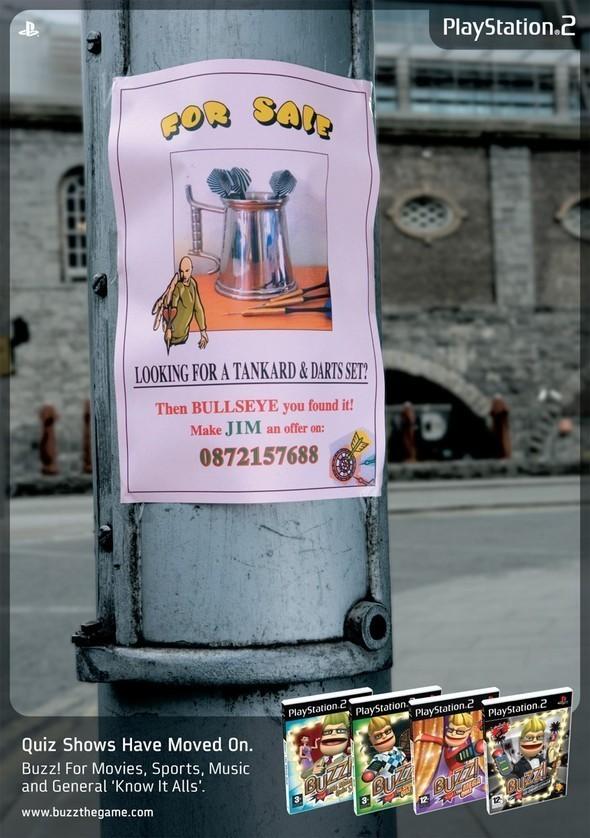 Рекламные плакаты Sony PSPи Sony Playstation 1, 2, 3. Изображение № 63.
