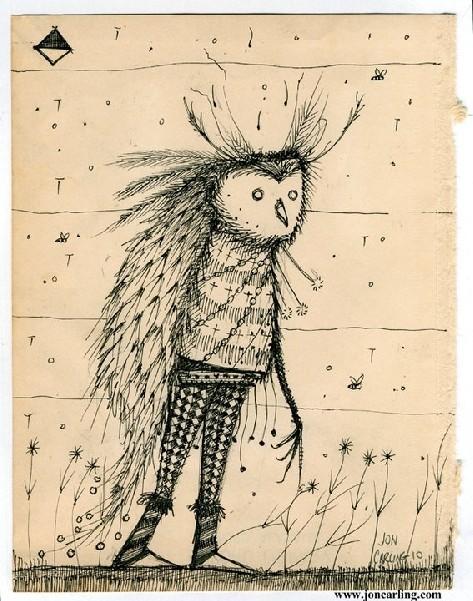 Jon Carling – мистерии в гелевой ручке. Изображение № 17.
