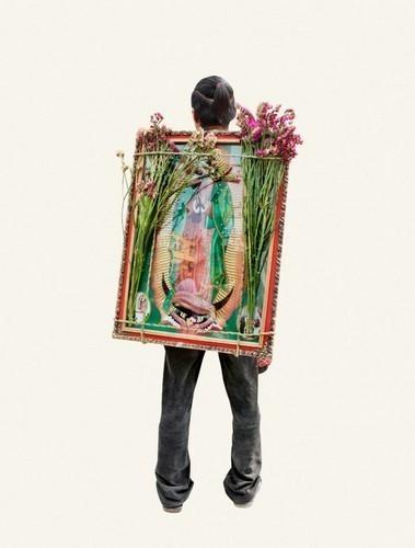 Изображение 4. Арт-портреты мексиканских паломников.. Изображение № 4.