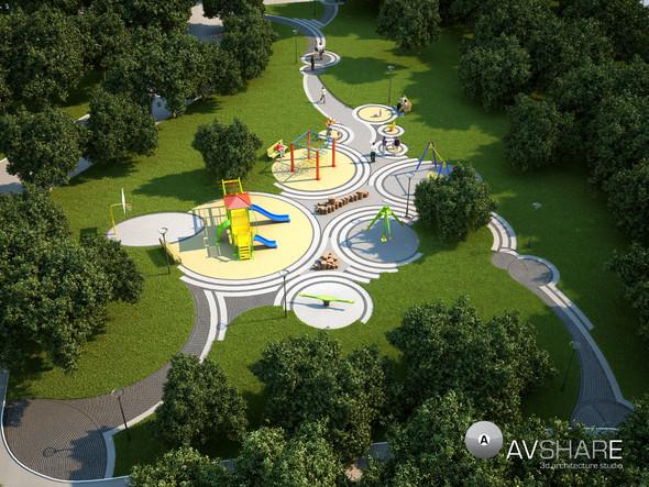 Дизайн игровых площадок. Изображение № 50.