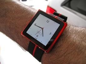 Элегантное превращение iPod nano в эффектные наручные часы. Изображение № 4.