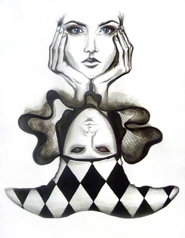 """""""Нам нужно рисовать то, что на лице, или что внутри его или за ним?""""©. Изображение № 2."""