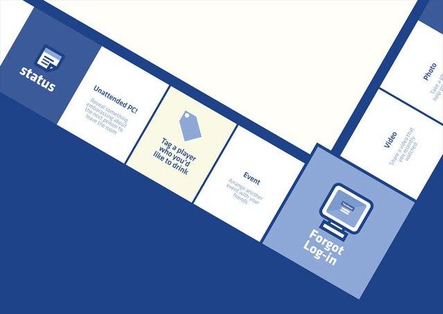 «Фейсбук» представлен в виде настольной игры. Изображение № 2.
