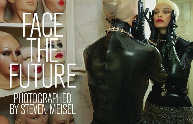 Вышли новые съемки Vogue, i-D, 10 и Interview. Изображение № 20.