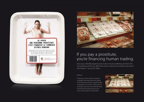 Изображение 12. Реклама против проституции.. Изображение № 22.