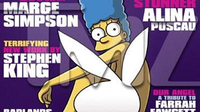 Мардж Симпсон попадет наобложку Playboy. Изображение № 1.