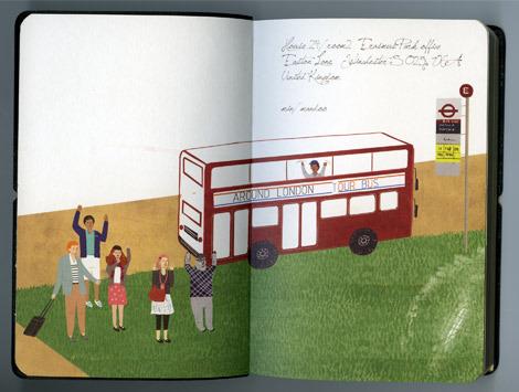 Красивые ежедневники для любителей путешествий и лондономанов.. Изображение № 7.