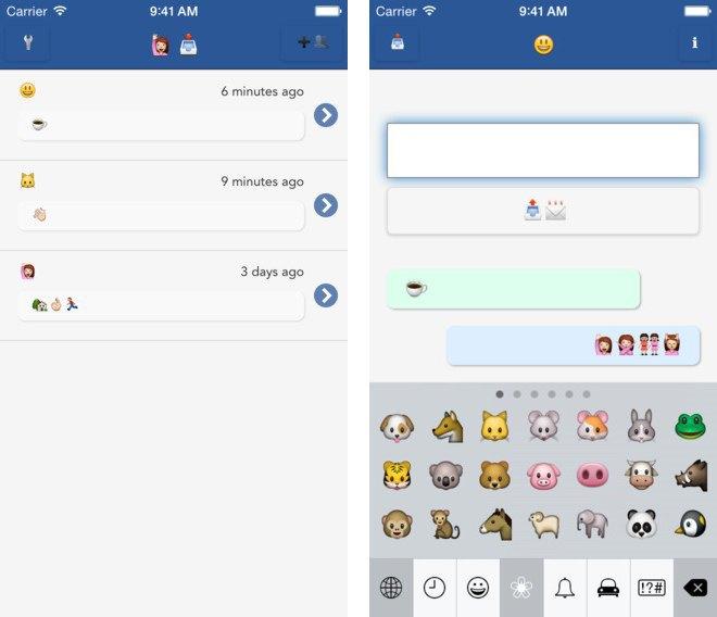 В App Store вышел Emoji-мессенджер . Изображение № 1.