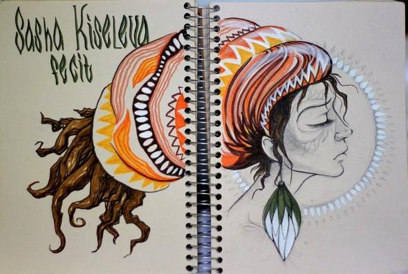 Рисунки в блокнотах. Изображение №3.