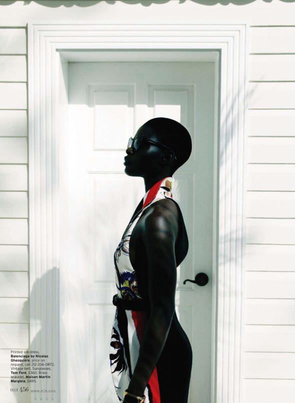 Съёмка: Дженейл Уильямс для Elle. Изображение № 6.