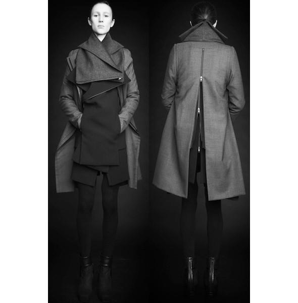Изображение 32. Лукбуки: Bergdorf Goodman, Jaeger Black и Rad Hourani.. Изображение № 32.