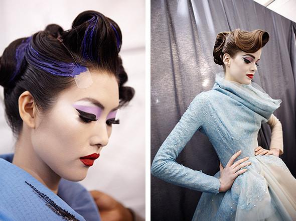 Изображение 7. Репортаж с бэкстейджа показа Dior Haute Couture SS 2011.. Изображение № 11.