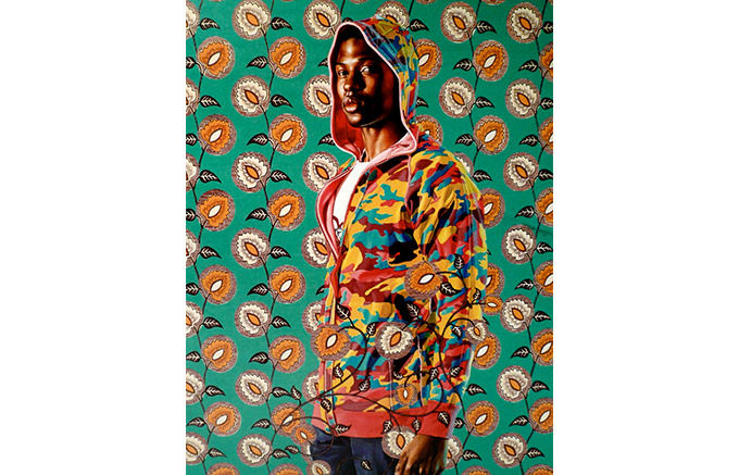 Kehinde Wiley, Rubin Singleton, 2008. Изображение № 16.