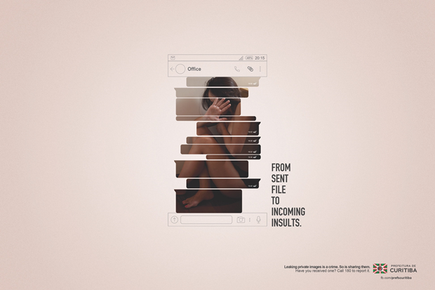 Агентство создало постеры для кампании против порномести. Изображение № 3.