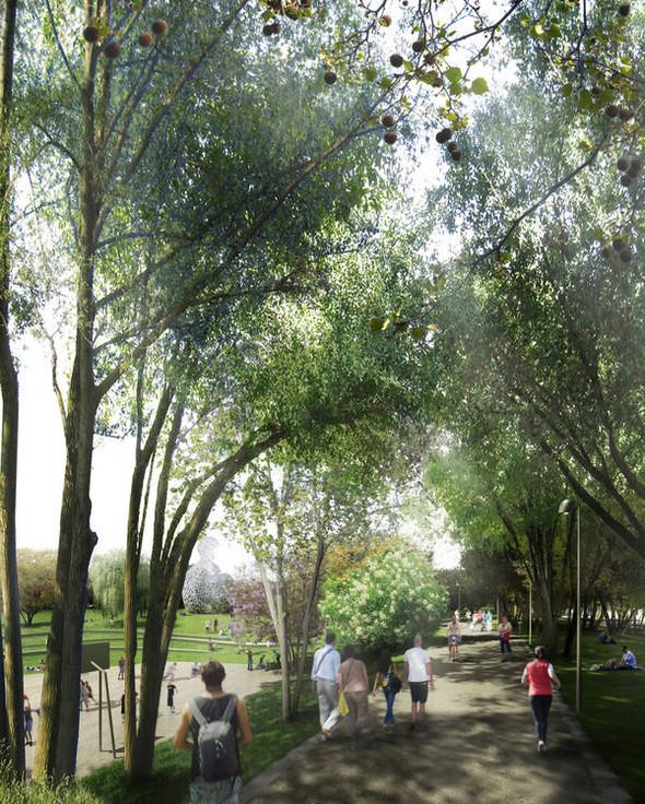 Барселона получит новые «зеленые легкие». Изображение № 4.