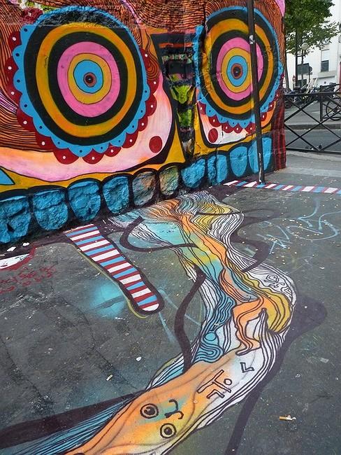 Стрит-арт в Париже. Изображение № 25.