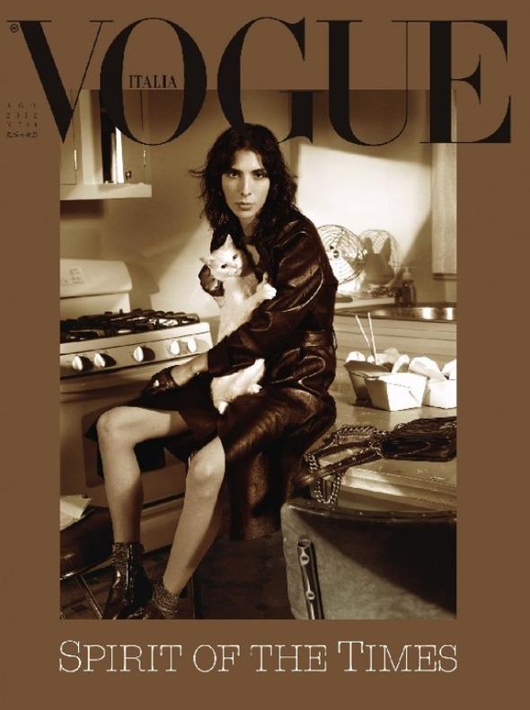 Под прикрытием: Новые обложки Dansk, i-D, Richardson, Surface, Vogue. Изображение № 9.